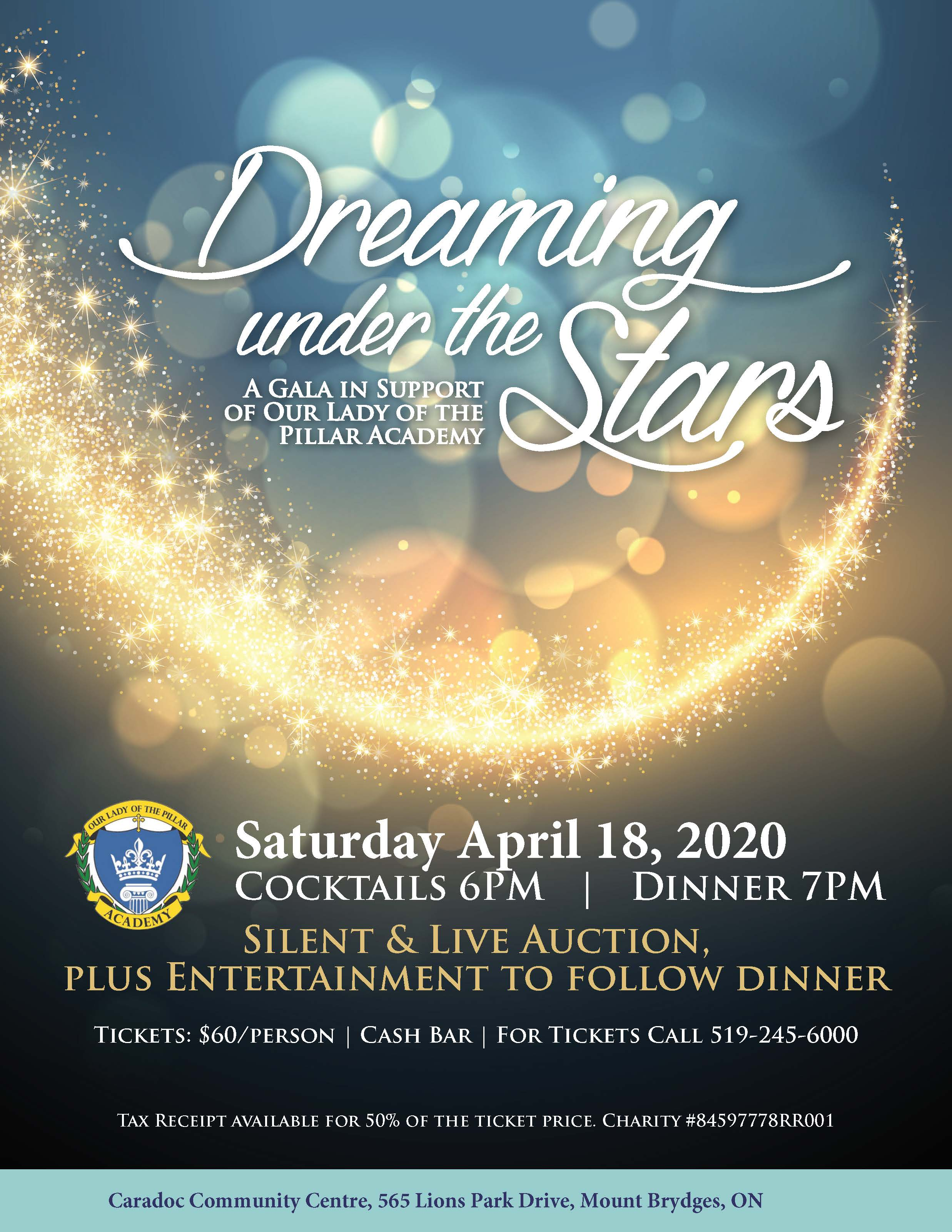 Save the Date for Our Gala Fundraiser!