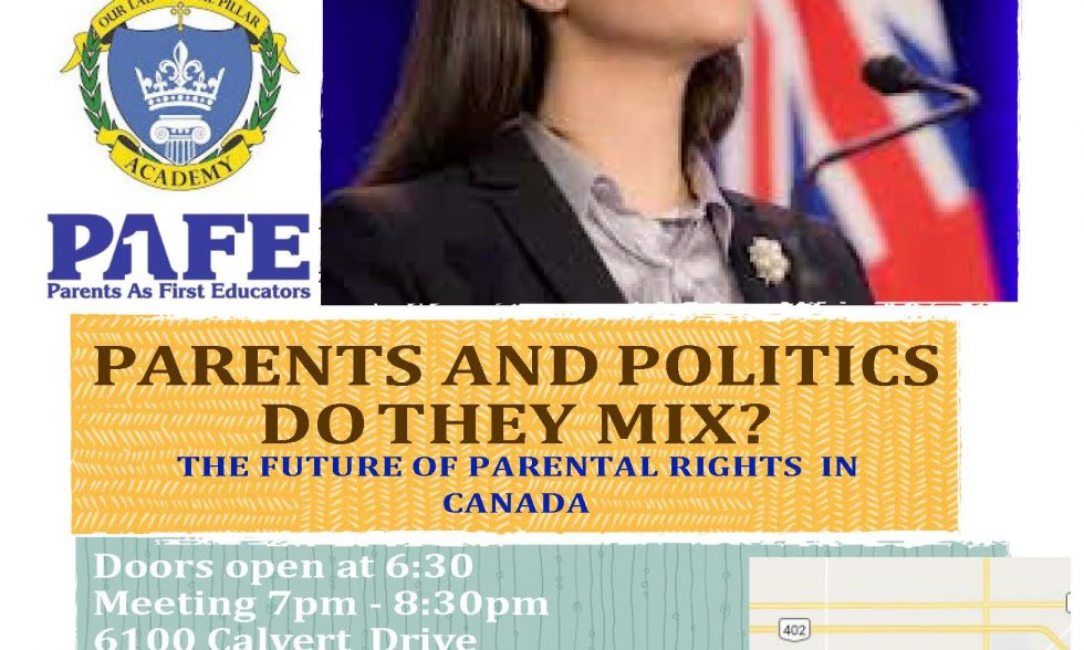 Speaker Tanya Granic Allen at OLPA on Nov 21st